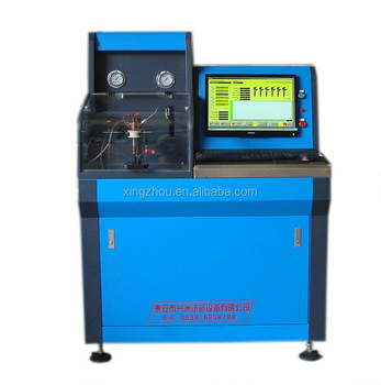 high-pressue common rail injector test bench--CRI-XZ300C with flow sensor