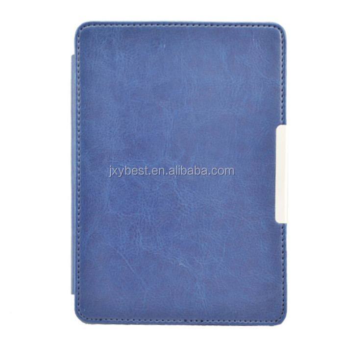 PU Leather Skin Case Flip Thin Protective Stylish Cover For Amazon Kindle PaperWhite 1 2 3
