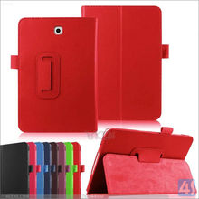 2015 Hot Selling Litchi PULeather Case For Samsung Galaxy tab S2 8.0 T715