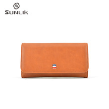 Superb Sewing Technology Secure Fibulate Phone Charging Wallet For Coins