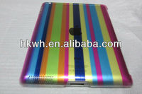 crystal partener pc pure color classic design smart cover trasparent for ipad 2 ipad 3 new ipad factory bottom price