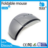 2015 Super Foldable 2.4G Optical Wireless Arc Mouse with Color Box