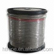 High Security stainless steel wire rope7*7,diameter 6mm,316