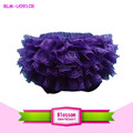 2015 purple lace ruffle cotton baby shorts wholesale baby bloomers for Halloween