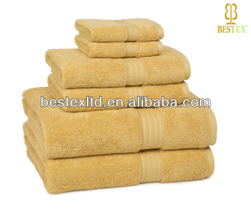 Luxury 500gsm Bath Hand Face Organic 100% Cotton terry towel