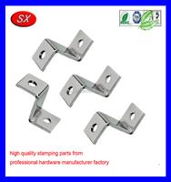 Metal Fabrication Chrome plate steel door hardware Z/L shape pedestal light turn signal mounting bracket