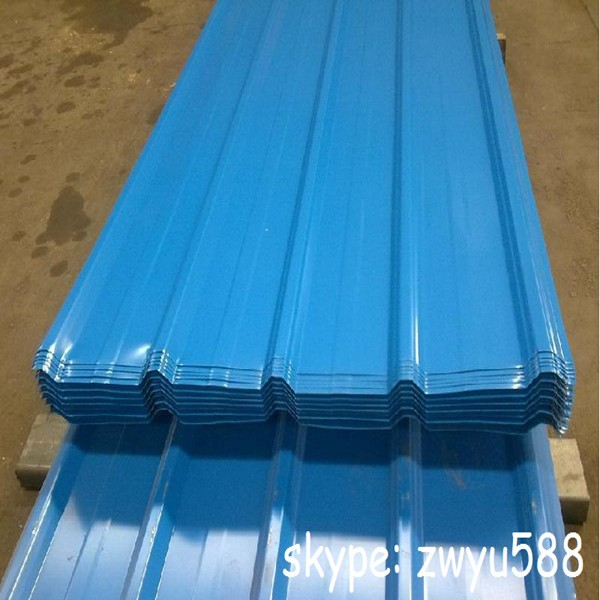 Hot sell cheap prepainted galvanized steel metal roofing sheet in high quality