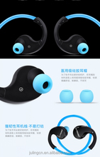 Sport earbuds wireless waterproof headphones Bluetooth headset retractable earphones.