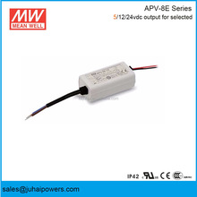 High quality Meanwell Single Output Switching Power Supply APV-8E-5 5v 1.4A 7w Led Driver