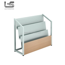 Fashion Delicate Appearance Steel Magazine Display Rack