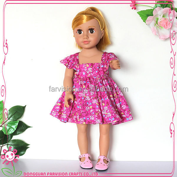 Custom style craft vinyl dolls heads and hands wholesale dolls 16""