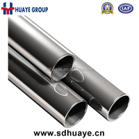 huaye grade 201/304 stainless steel weld tube for decoration