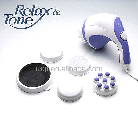 New BODY SCULPTOR MASSAGER RELAX SPIN TONE Push fat massager slim body leg Leg massage
