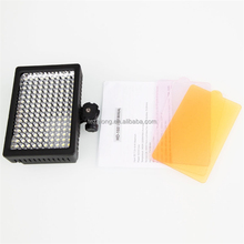 Tezelong 160 LED HD-160 Dimmable Ultra High Power Panel Digital Camera Camcorder Video Light LED Light