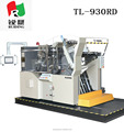 Automatic hot foil creasing and cutting machine for cardbord