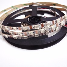 DC5V 12mm 5050smd flexible RGB string ws2812b 4pins 2811 module color chasing led strips