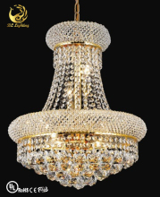 Crystal Down Light Glass Lamps Hanging Chandelier
