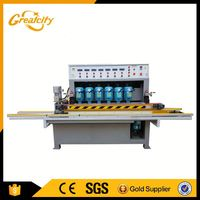 Mattress edge polishing machines