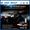 NSSC GROUP 3C cost effective 9007 hi low beam 3600 lumen led head light cars used conversion headlight kit