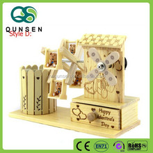 wooden small decorative windmills toy windmills for kids