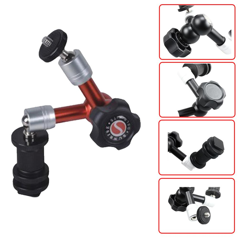 Articulating photography 7'' magic aluminum arm for camera accessory