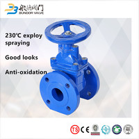 Wholesale PN10 PN16 Resilient Seated Soft Sealed Gate Valve
