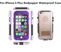 Original Redpepper Waterproof Cover Mobile Phone Case For iPhone 6 Plus 5.5 inch With Sensor Touch ID