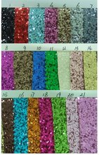 Sell 2012 fashion PU glitter leather for shoesS3002