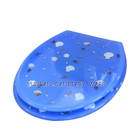 designed accessories bathroom polyresin toilet seat