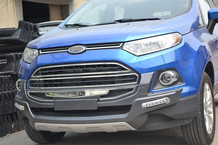 Factory Promote Abs Material Front Grill For Ford Ecosport Auto Accessories