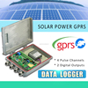 Wireless Temperature Humidity GPRS Data Logger with solar power panel