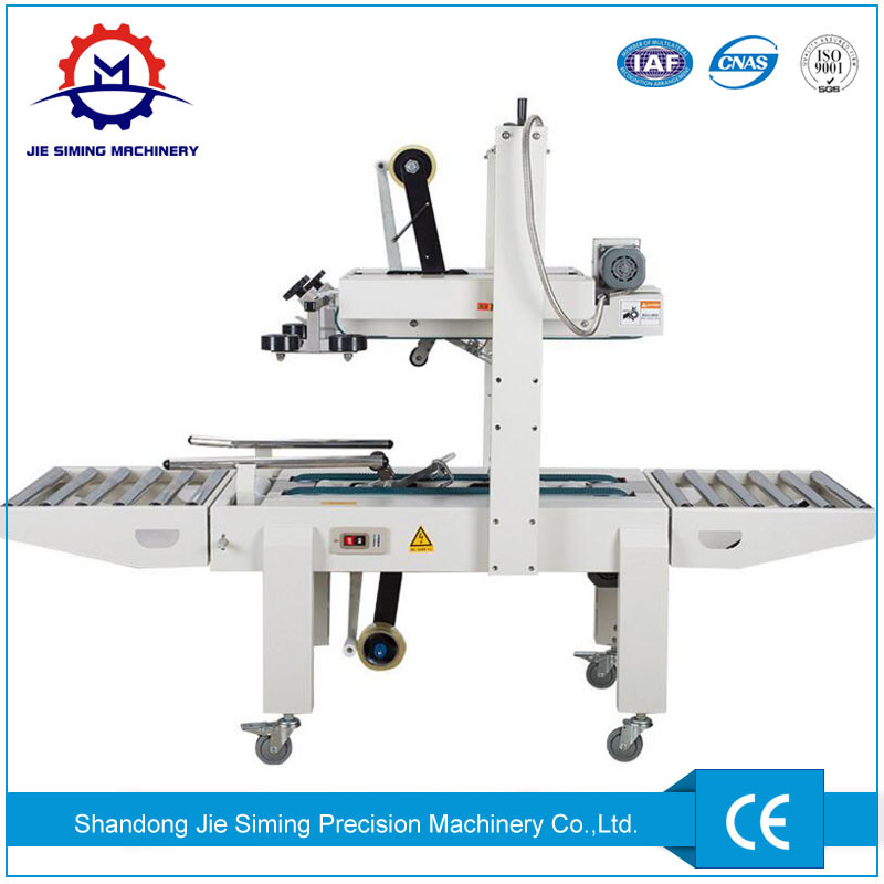 Belts Driven Sealer Carton Box Closing Machine for sale