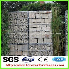 hesco accommodation bunker/barrier gabion box PVC coated gabion box
