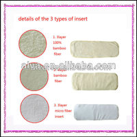 Ultra Absorbent Breathable Cloth Baby Diaper Insert