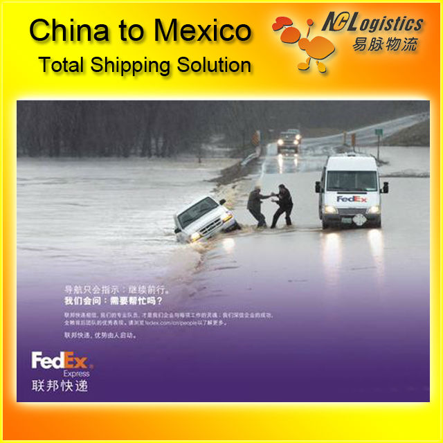 express courier service from China to Mexico