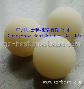 2016 High Quality Customized Colorful Viton/Nbr Rubber Coated Steel Ball / Rubber To Steel Ball