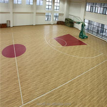 2016 new hot fashion sound proof basketball sports flooring/wooden pattern pvc flooring