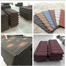 China Best Quality Roof Tile 1340x420mm corrugated roofing sheet/colorful stone coated metal tile