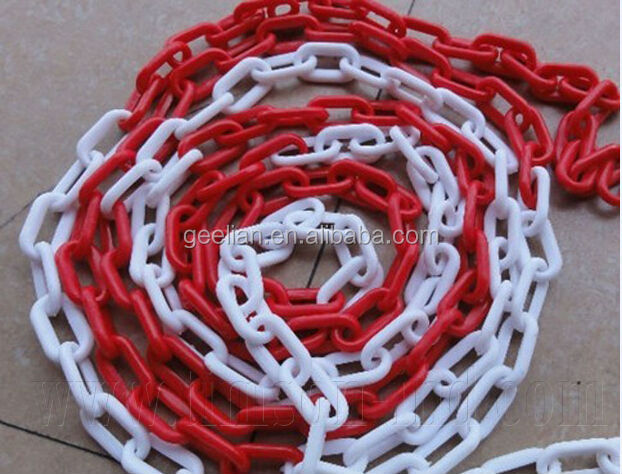 Top Quality China Manufactory Of Traffic Barrier Warning Plastic Chain