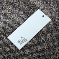 250gsm Single side coated paper printing clothing hang label tag