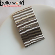 Hot Sale Fancy Firm Silver Wave Hair Bobby Pins