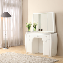 H013-Modern Makeup Vanity Table With Makeup Mirror,Vanity Dressing Table