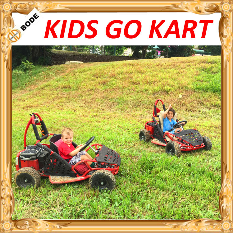 Competitive price small safety 80cc kids buggy go kart MC-249