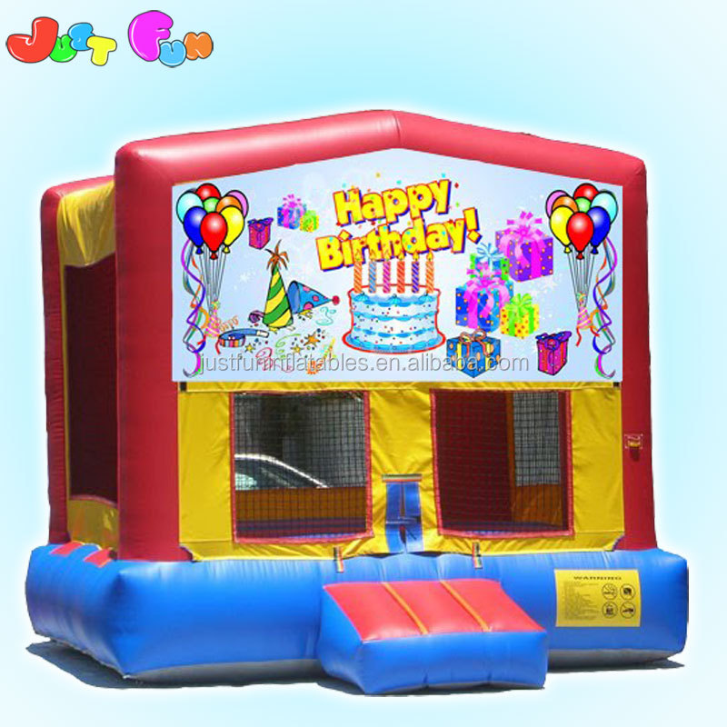 cheap spacewalk inflatable jumping castle kids used party jumpers for sale