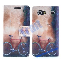 High Quality PU Magnetic Flip Cover Case for Samsung i9070 Galaxy S Advance i9050