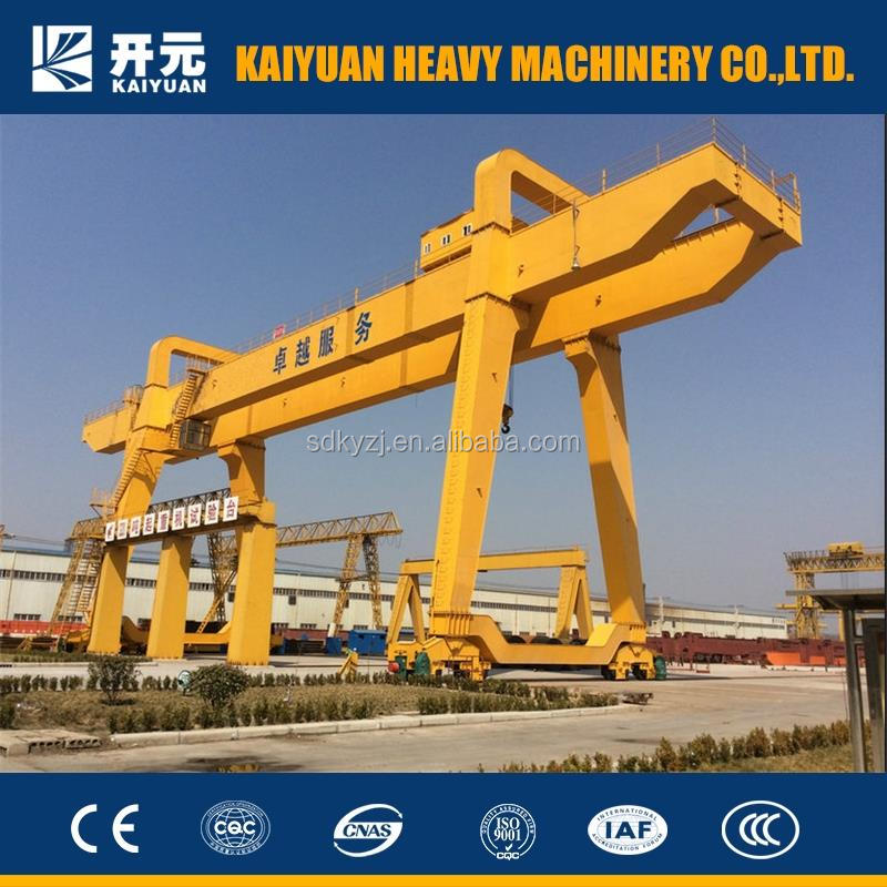 30 ton Effective Double Girder Gantry Crane