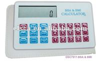 medical BMI BSA calculator ( body mass index and body surface area)