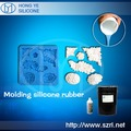 High replication silicone molding rubber