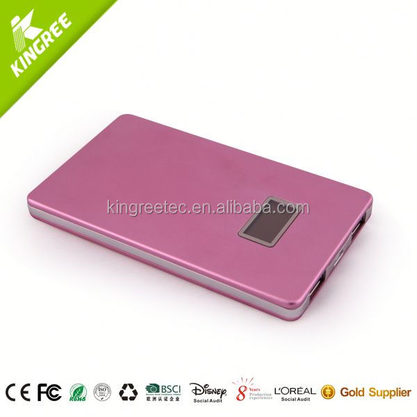 ultra slim power bank/ power bank for handphone