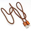 durable nylon braided jacket high speed charging 8PIN USB cable for IOS